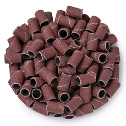 MelodySusie 100 pcs Professional Sanding Bands for nail dril