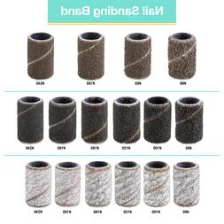 USA PANA 100 Pieces High Quality Nail Sanding Bands for Nail
