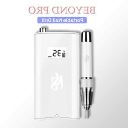 Kiara Sky BeyondPro Portable Nail Drill - White