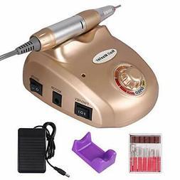 JINGOU Electric Nail Drill Machine 30000RPM Pedicure Manicur