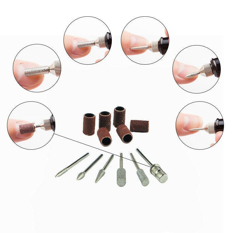 Electric Drill File Acrylic Art Pedicure Portable