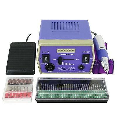 Electric Manicure Pedicure Kit Bits