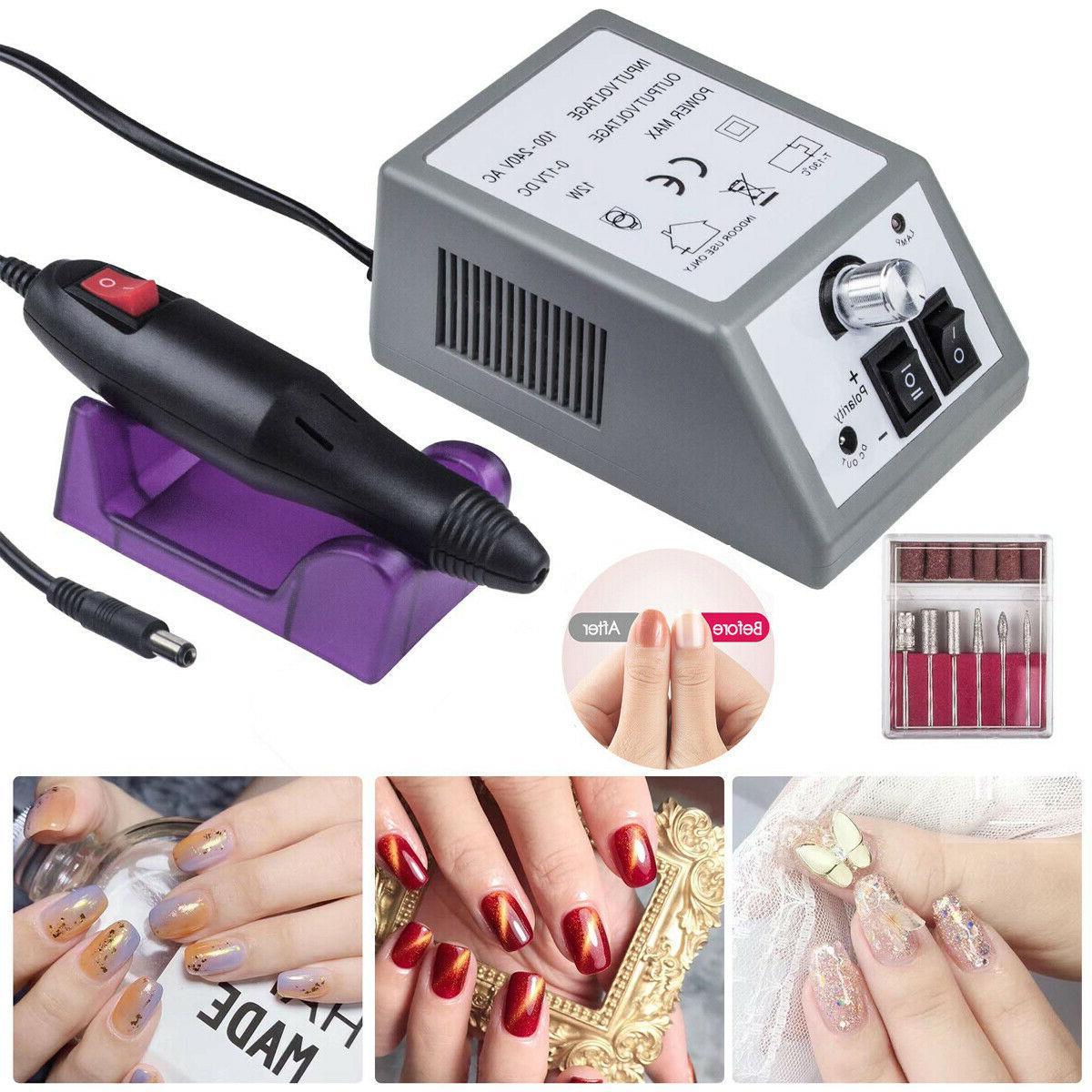 electric nail file drill manicure machine art