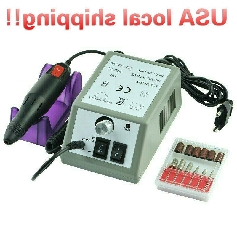 fast shipping electric nail drill machine manicure
