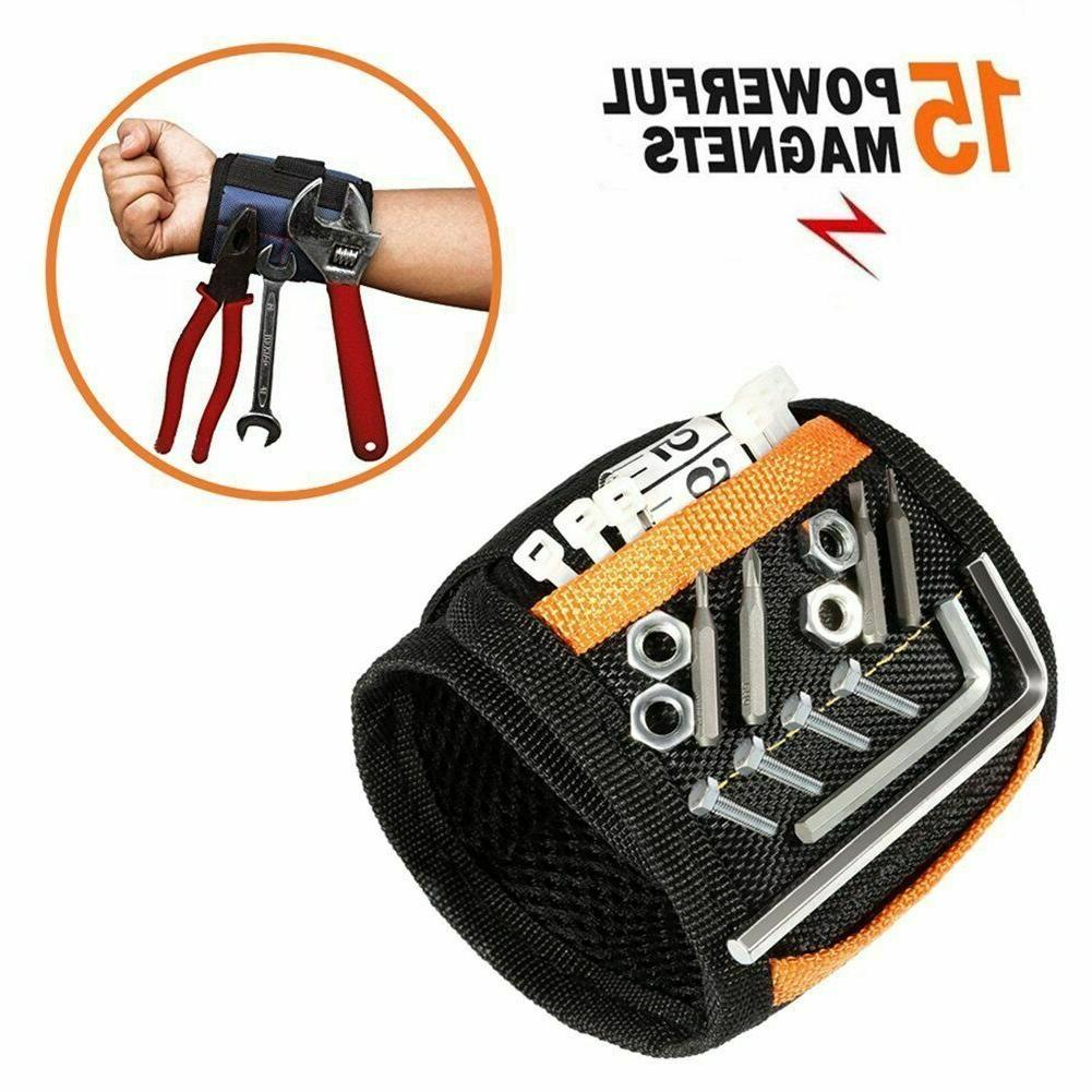 magnetic wristband with 15 strong magnets
