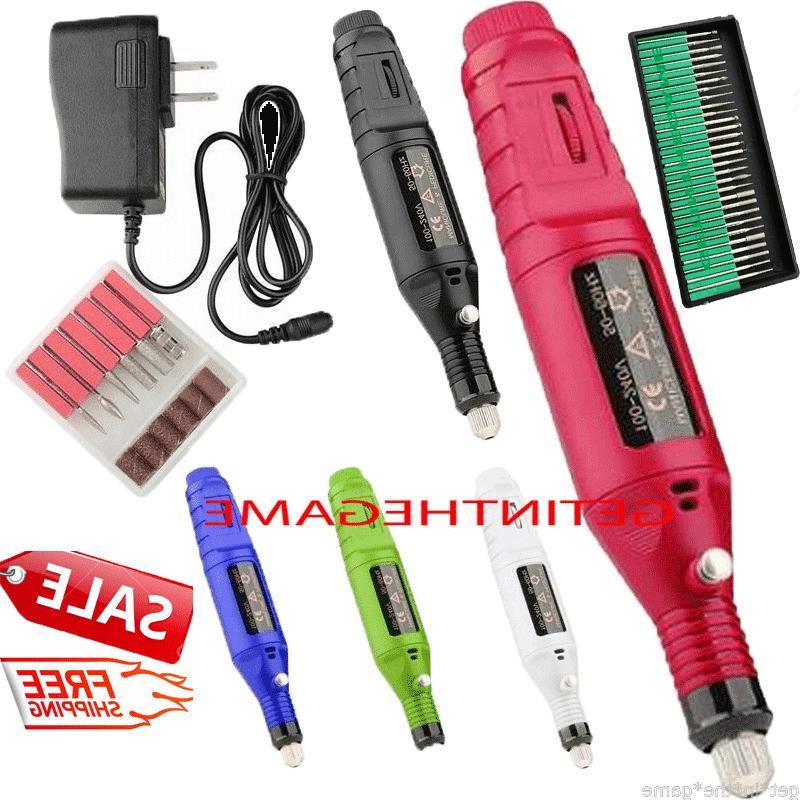 nail file drill kit electric manicure pedicure
