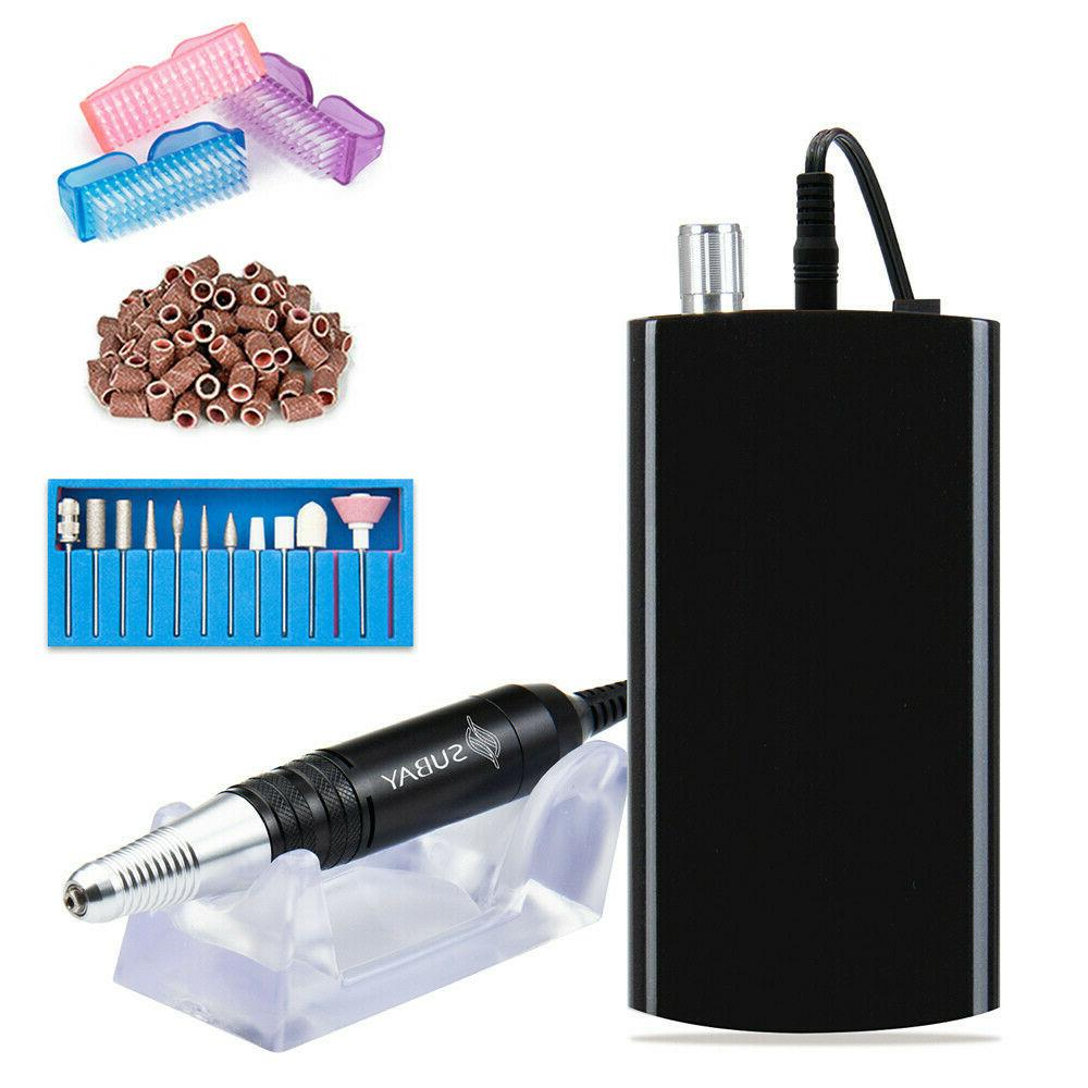 Nail File Drill Electric Nail Machine Tool Kit