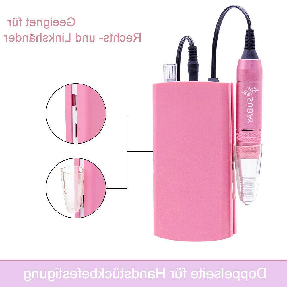 Portable Rechargeable Drill Manicure