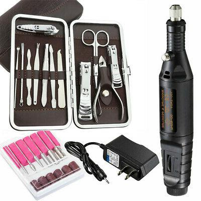 professional electric acrylic nail drill file machine