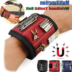 Magnetic Wristband Strong Magnets Holding Screws Nails Drill