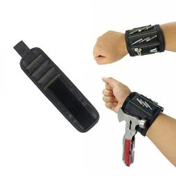 Magnetic Wristband Strong Magnets Screws Nails Drill Bit Too