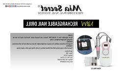 Mia Secret  Nail Drill 272 ,Brush 10OR , nude blush 4 oz